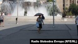 Температури над 40 степни во Скопје