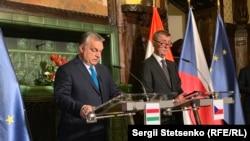 Premijeri Mađarske i Češke, Viktor Orban i Andrej Babiš