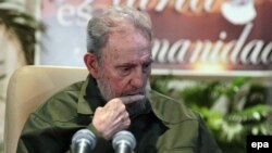 Водачот на кубанската револуција, Фидел Кастро.