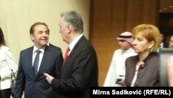 Rasim Ljajić i Zlatko Lagumdžija na Forumu u Sarajevu