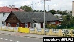 Дом на вуліцы Савецкай у Зэлеве, у якім жыла Ларыса Геніюш