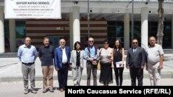 Участники конференции в Кайсери, 22 августа 2018 года