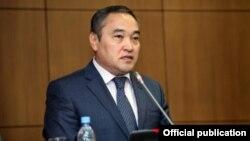 Қазақстанның мәдениет және ақпарат министрі Дархан Мыңбай.
