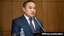 Дархан Мынбай, министр культуры и информации Казахстана.