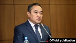 Culture and Information Minister Darkhan Mynbai