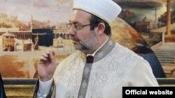 Шефот на турската државна агенција за верски прашања,Мехмет Гормез.