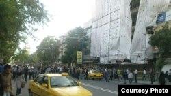 Tabrizdə aksiya, 21 may 2012