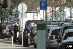 Поліцейський рейд у Брюсселі