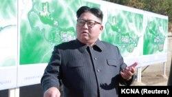 Түндүк Кореянын лидери Ким Чен Ын.