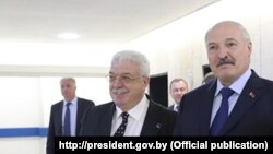 Міхаіл Гусман і Аляксандар Лукашэнка, чэрвень 2017