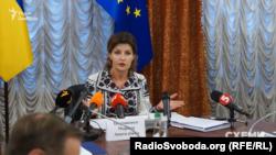 Марина Порошенко, голова Українського культурного фонду, дружина президента України Петра Порошенка