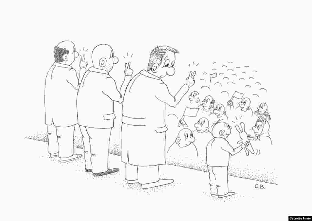 Карикатура-переможець, автор: Сергій Вельможко із Запоріжжя