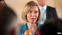 "EU foreign-policy chief Federica Mogherini said as she arrived that the meeting was informal, ""so don't expect [a] decision to be taken today."""