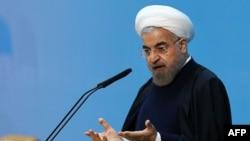 Иранскиот претседател Хасан Рохани.