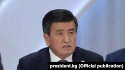 Сооронбай Жээнбеков.