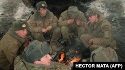 Чечняда Русия хәрбиләре, 1994 ел