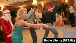 Russia -- Corporative new year celebration, undated