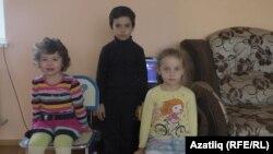 Дети Решата Аметова, оставшиеся без отца