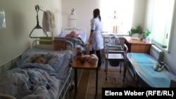 Теміртаудағы пансионаттары пациенті. 27 қаңтар 2016 жыл.