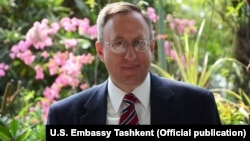 U.S. Ambassador to Uzbekistan George Krol was appointed by President Barack Obama in 2015 (file photo).