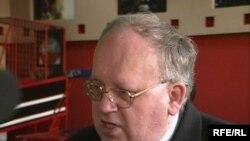 Польша мемлекетінің Қазақстандағы елші Павел Чеплак. Қарағанды, 30 наурыз, 2009 жыл.