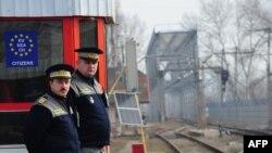 Пограничный пункт в Румынии. Иллюстративное фото.
