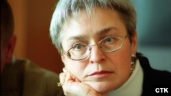 Russian journalist Anna Politkovskaya (1958-2006)