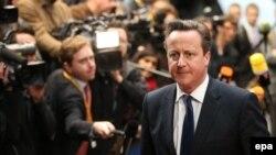 رئيس وزراء بريطانيا ديفيد كامرون