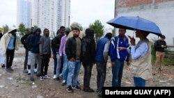 Migranți în Franța