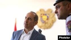 Роберт Кочарян в ереванском суде, 16 мая 2019 г.
