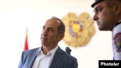 Роберт Кочарян в суде, 16 мая 2019 г.