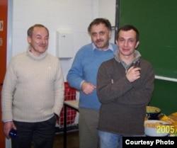 Дмитрий Дьяконов, Виктор Петров и Максим Поляков