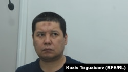 Бывший военнослужащий 45-летний Бактыгали Калдыбеков в военном суде Алматинского гарнизона на оглашении приговора ему по обвинению в пропаганде терроризма. Алматы, 15 июля 2019 года.