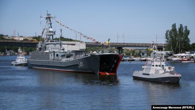 """Средний десантный корабль """"Юрий Олефиренко"""""""