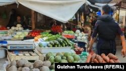 Инфляция в Кыргызстане продолжает расти, в основном, за счет роста цен на продукты питания.