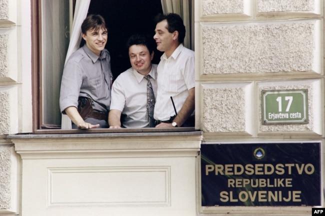 'Jugoslavija nije ni mogla biti sastavljena valjano jer su to bile nacije koje su ipak težile svojoj nacionalnoj državi - i sve više kroz ove svađe u Titovoj Jugoslaviji.' (Fotografija iz 1991)