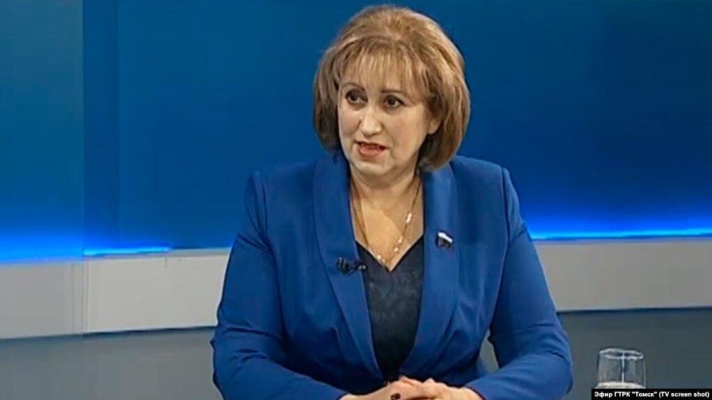 Вера Ганзя - депутат Государственной думы России от Новосибирской и Томской областей (Архивное фото)