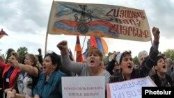 Митинг АНК на площади Свободы в Ереване, 30 сентября 2011 г.