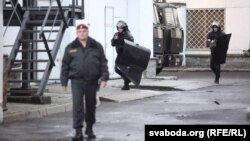 Белорусская полиция, архивное фото