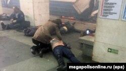 Теракт в метрополитене Санкт-Петербурга, 3 апреля 2017 года.
