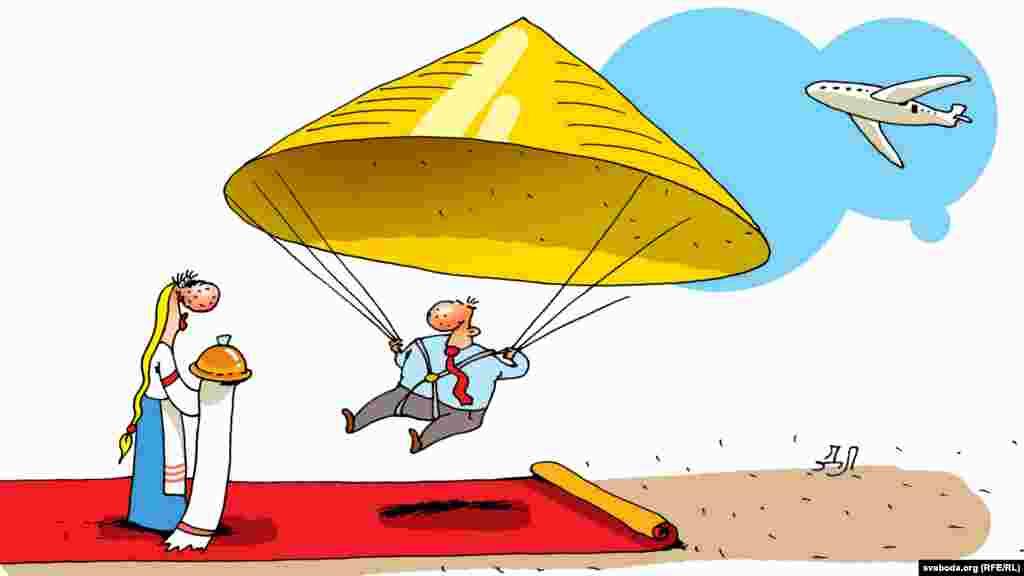 Кітайскі лідэр прыбыў у Менск.