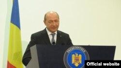 Presidenti i Rumanisë, Traian Basescu.