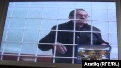 Рафис Кашапов, председатель Татарского общественного центра, во время суда. Казань, 13 ноября 2015 года.