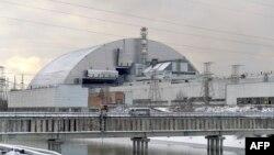 Ілюстраційне фото. Четвертий блок Чорнобильської АЕС під конфайнментом, листопад 2016 року