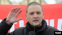 "Организатор ""Левого фронта"" Сергей Удальцов"