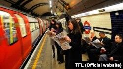 Лондонский subway
