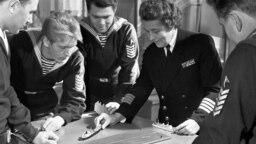 Капитан дальнего плавания Анна Щетинина, 1971 год