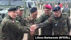 Учения НАТО в Польше Brilliant Jump/ Май 2016 года