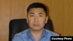 Начальник ГУВД Бишкека Сталбек Рахманов.