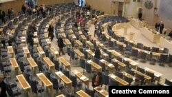 Շվեդիա, Ստոկհոլմ - Ռիկսդագի նիստերի դահլիճը